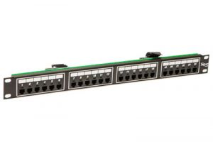 ICC Telco Male Patch Panel - RJ11 - 6P4C - 1 RU - 24 Port