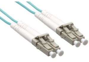 LC/LC 10GB Laser Optimized Multimode Fiber Patch Cable - OM3