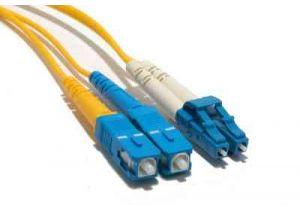 LC/SC 9/125 Singlemode Duplex Fiber Patch Cable - 30 Meter