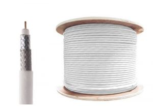 Times Microwave LMR-100 Coaxial Cable - White - 1000 FT