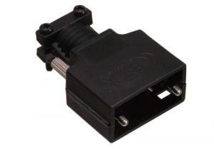 MaxBlox DB9 & HD15 VGA Terminal Blocks Hood - Black Plastic