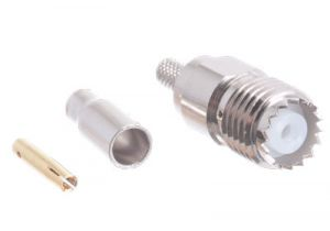 Mini UHF Female Crimp Connector - RG174, RG188, RG316 & LMR-100