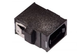 MTP / MPO to MTP / MPO  Reduced Flange Fiber Adapter - Black