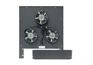 Middle Atlantic Integrated Fan Top Option - Includes Three 6 Inch Fans