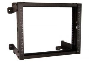 ECore DuroRacks Open Frame Wall Mount Rack - 12' Depth - 8 RU