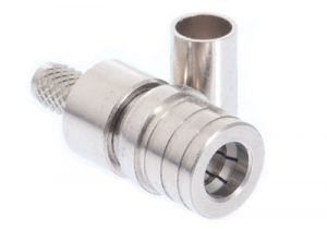 QMA Male Crimp Connector - RG58 & LMR-195