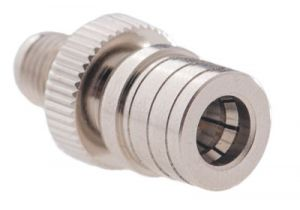 QMA Male to SMA Female Adapter