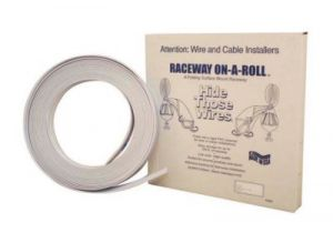 Premiere 1/2 Inch Raceway On-A-Roll - Beige - 50 Ft