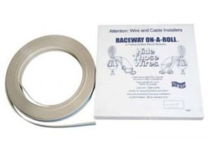 Premiere 1/2 Inch Raceway On-A-Roll - White - 50 Ft