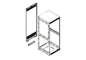RAP Series Rear Access Panel for Slim 5 Racks