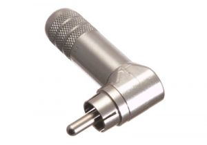 RCA Right Angle Male Solder Connector - RG59