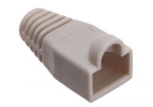 Corning LC, 1.6mm/2.0mm Fiber Connector Boots - 100 per pack - Aqua