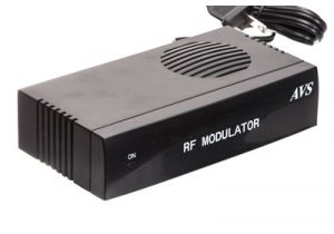 S-Video and RCA RF Modulator
