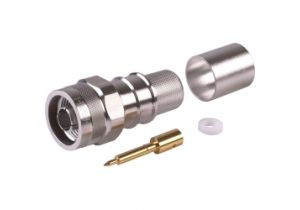 Times Microwave N Male Crimp Connector - LMR-600 - TC-600-NMH-X