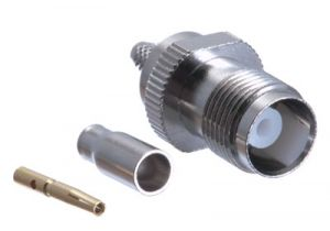 TNC Female Crimp Connector - RG174, RG188, RG316 & LMR-100