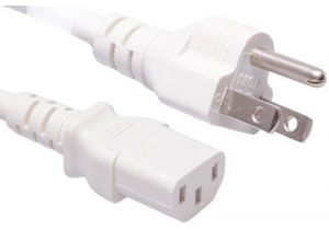 Universal CPU Power Cord - Nema 5-15P to C13 - 10 Amp