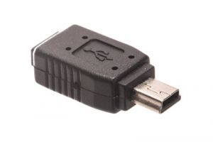 USB 2.0 Mini B Male to Micro B Female Adapter