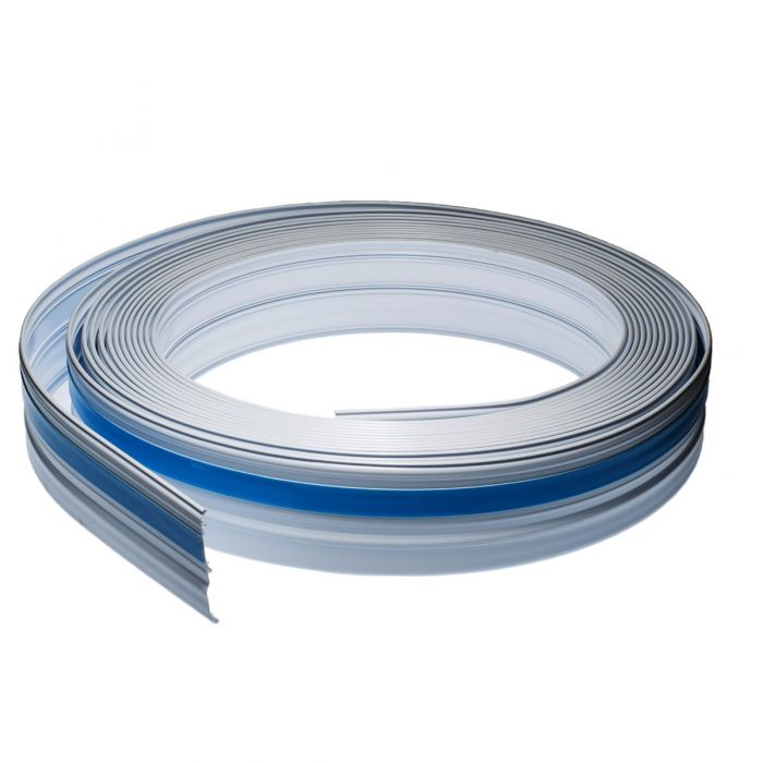 Premiere 1 Inch Raceway On-A-Roll - White - 50 Ft | ShowMeCables.com