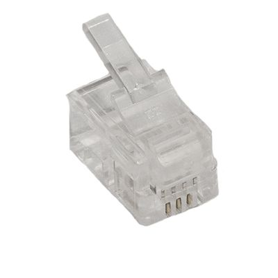 RJ22 4 Position 4 Conductor Modular Plug (Handset Cord ...