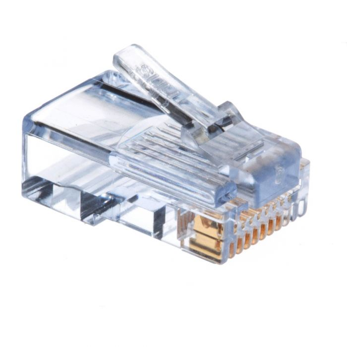 EZ-RJ45 Cat5e Connector - Stranded or Solid Cable | ShowMeCables.com