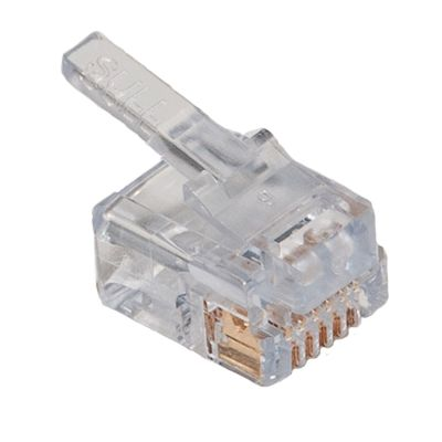 ez rj11 and ez rj12 feed through modular connectors showmecables com rh showmecables com Phone Jack Pinout RJ22 Pinout