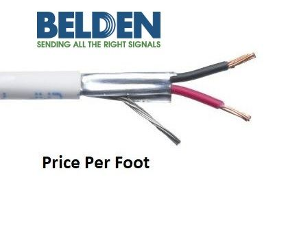 Belden 9154 - 1 Pair 20 AWG Shielded PVC Audio/Instrument Cable ...