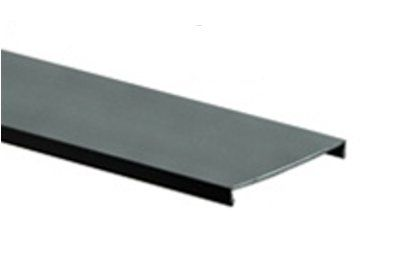 panduit duct cover for 2x2 or 2x4 g wide slot wiring duct 6 ft rh showmecables com Metal Wire Duct Blue Wire Duct