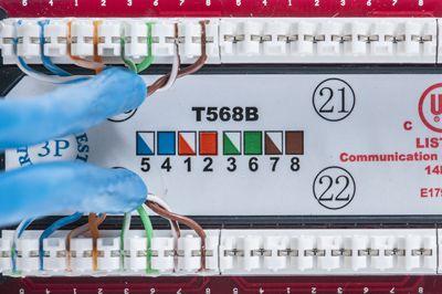 cat6 patch panel showmecables com rh showmecables com cat6 patch panel wiring structured wiring cat6 patch panel