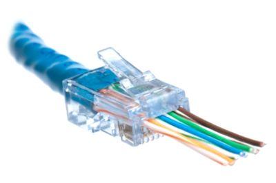 ez rj45 cat6 connector showmecables com rh showmecables com crimp on cat6 rj45 plugs with inserts RJ45 Wiring Cat8