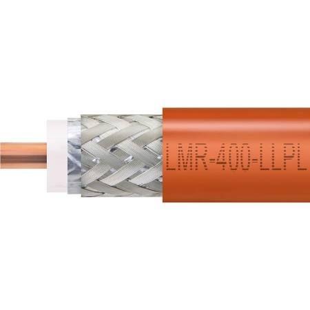 Times Microwave LMR-400-LLPL Plenum Coaxial Cable - Black - Per FT ...