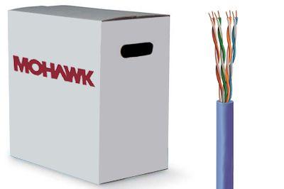 Mohawk 5e LAN Plenum Cat5e CMP Cable | ShowMeCables.com