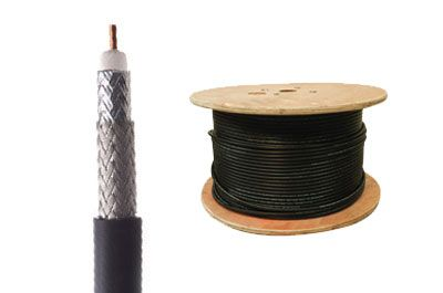 RG11 Coax Cable - Solid Copper - PVC - 1000 FT | ShowMeCables.com