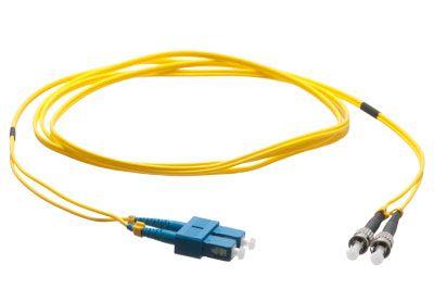 Plenum Fiber Cable - Singlemode SC/ST | ShowMeCables.com