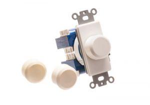 100 Watt Impedance Matching Volume Control - Almond, Ivory, White