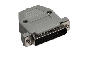 DB25 Male Crimp Connector Kit - Plastic