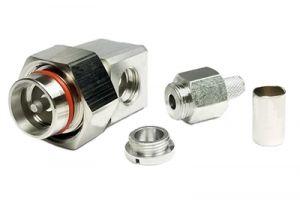 4.3/10 Mini-DIN Male Crimp Connector - RG8x & LMR-240