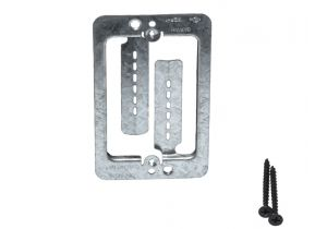 Low Voltage Mounting Bracket - Single Gang - Box Eliminator - MPLS