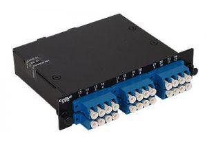 LC Singlemode Duplex MTP/MPO Fiber Optic Cassette - 9/125 - 12 Port