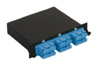 SC Singlemode Duplex MTP/MPO Fiber Optic Cassette - 9/125 - 6 Port