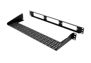 Rack Mount Fiber FDU Patch Panel with Rear Cable Support - 1U