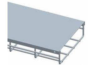 "12"" Wide Cable Tray Cover - 1 Meter"