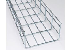 """Wire Mesh Cable Tray - 2"""" Deep and 10' Long"""