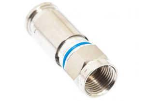 Holland SLCU-6 F-Type Male Compression Connector - RG6 PVC and Plenum
