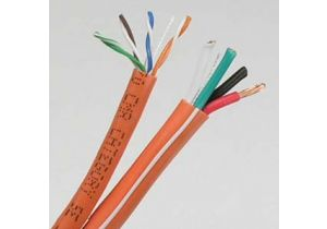Combo Cable - Cat5e UTP + 16 AWG 4 Conductor Audio - 500 FT