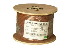 Thermostat Cable - Unshielded- CMR - 250ft - 20 AWG - 8 Conductor