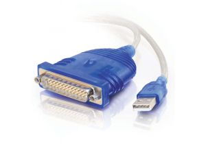USB to DB25 Serial RS232 Adapter Cable