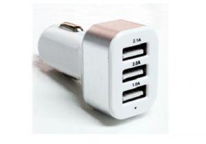 3 Port - USB Car Charger - 5.1A