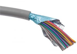 25 Conductor 26 AWG Stranded PVC Cable - Per FT