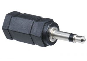 3.5mm Stereo Female to 3.5mm Mono Male Adapter