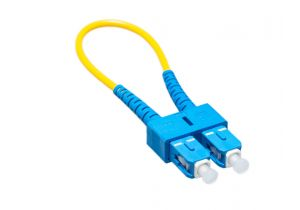 SC/SC 9/125 Singlemode Fiber Optic Loopback Cable - OS1